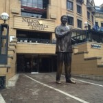 Meeting the Ayayas (Nelson Mandela Square)