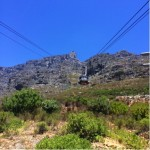 Cable Car (On the Way to Table Mountain)